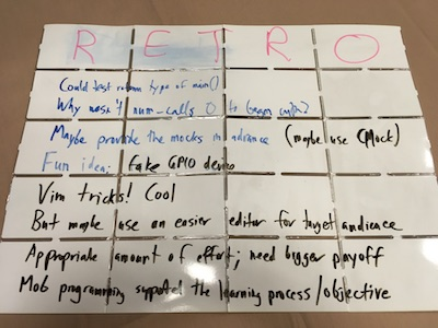 Noteboard: takeaways from Fundamentals of C and Embedded